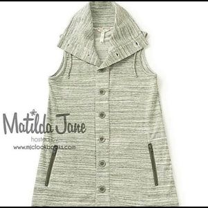 Matilda Jane Out the Door Vest Button Up